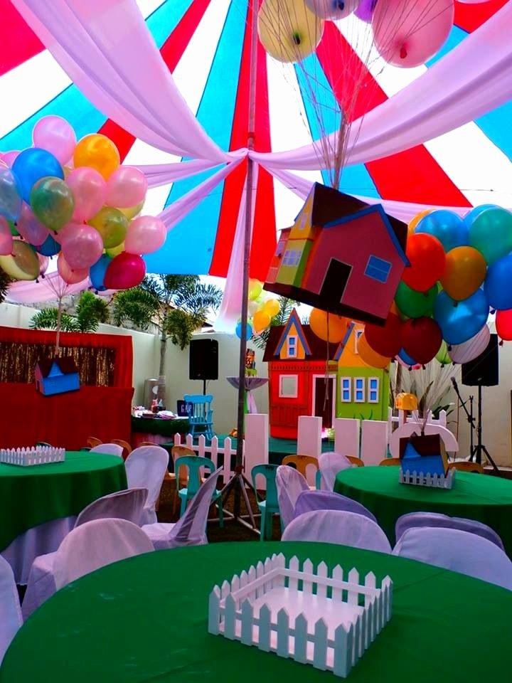 Disney Birthday Decoration Ideas Elegant Floating House Of Disney Up Party theme