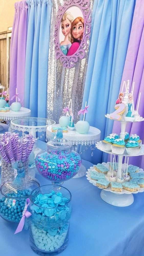 Disney Birthday Decoration Ideas Luxury Frozen Disney Birthday Party Ideas Frozen theme Birthday