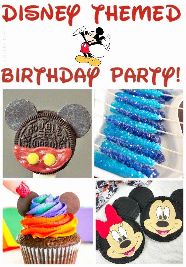 Disney Birthday Decoration Ideas Unique so Many New Disney themed Party Ideas Yourmodernfamily