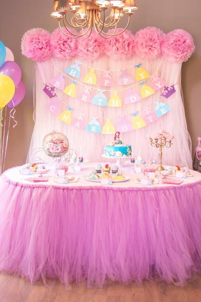 Disney Princess Birthday Decoration Ideas Awesome Disney Princess Birthday Party Ideas Mit Bildern