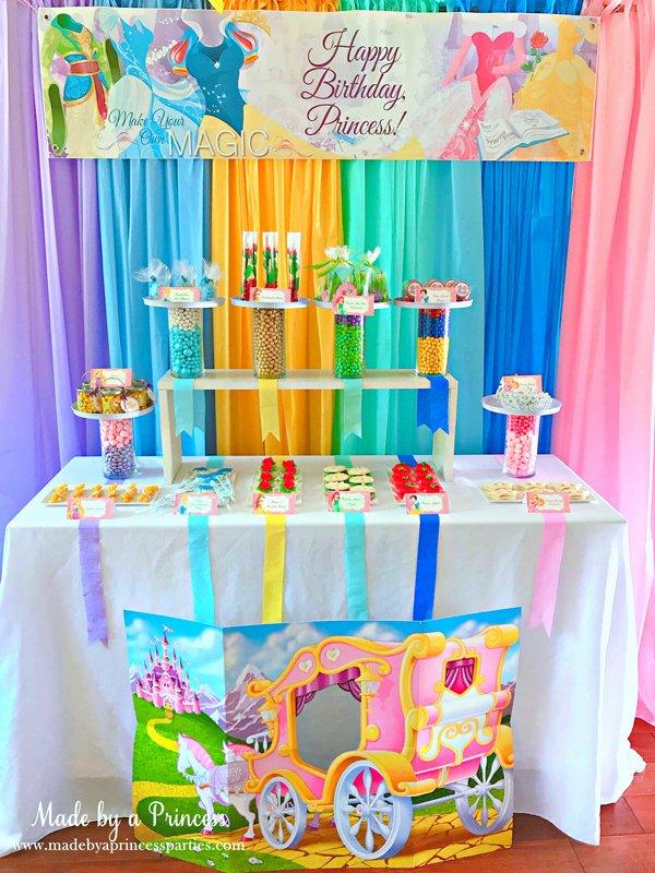 Disney Princess Birthday Decoration Ideas Beautiful Disney Princess Party Ideas Made by A Princess
