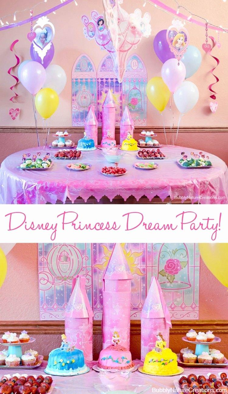 Disney Princess Birthday Decoration Ideas Beautiful Disney Princess Party