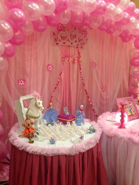Disney Princess Birthday Decoration Ideas Beautiful Princess theme Birthday Party Ideas