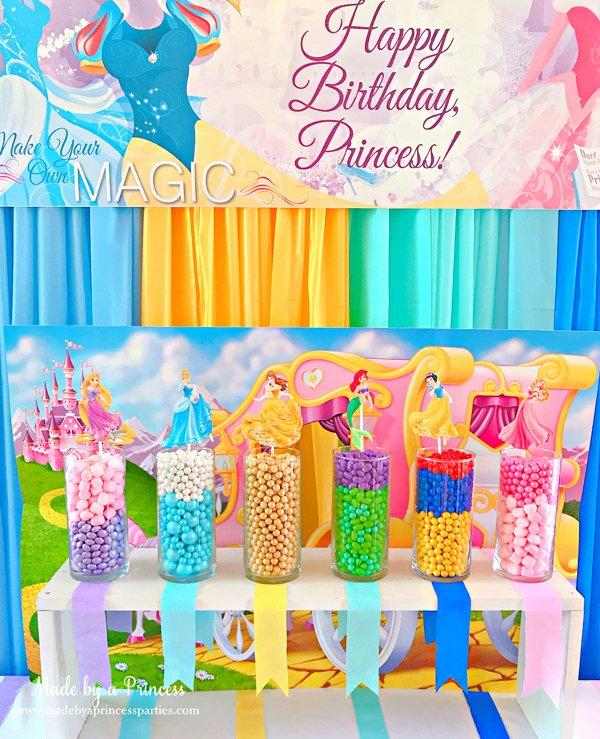 Disney Princess Birthday Decoration Ideas Elegant Disney Princess Party Ideas Made by A Princess