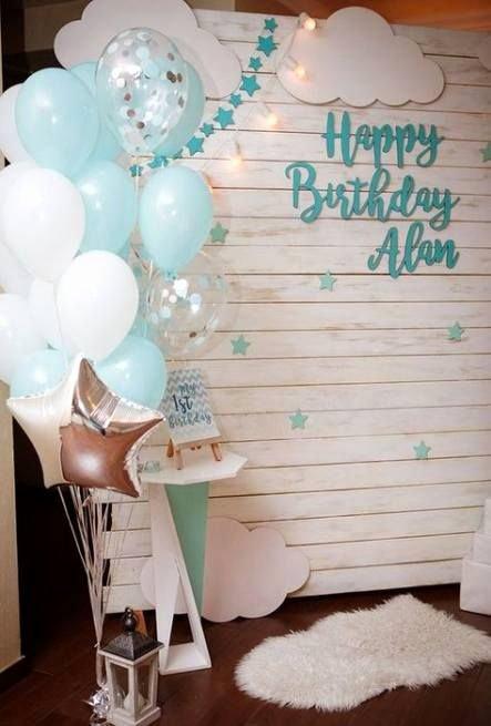 Diy First Birthday Decoration Ideas Fresh Birthday Decorations Diy 1st Boy 53 Ideas