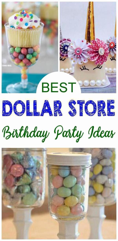 Dollar Store Birthday Decoration Ideas Fresh 9 Dollar Store Birthday Party Ideas Parties for Kids for