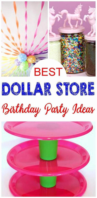 Dollar Store Birthday Decoration Ideas Inspirational Best Dollar Store Hacks & Ideas for Birthday Parties