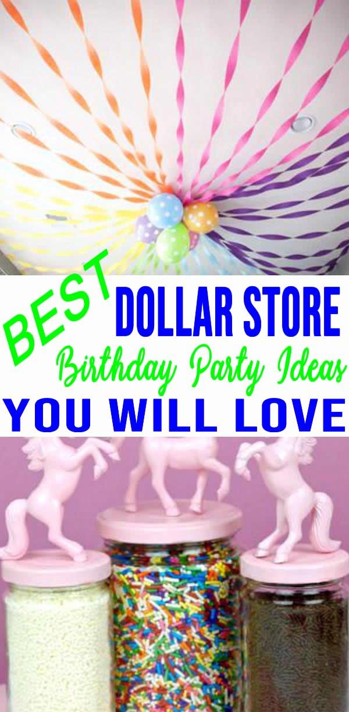 Dollar Store Birthday Party Ideas 19