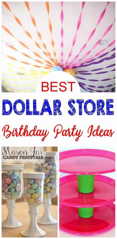 Dollar Store Birthday Decoration Ideas Unique Party Ideas Dollar Store Ideas for Any theme Party for Kids