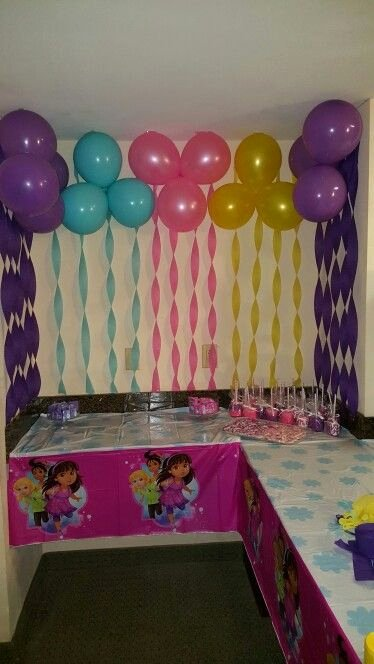 Dora Birthday Decoration Ideas Awesome Dora and Friends Party