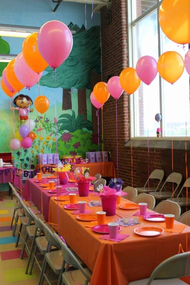 Dora Birthday Decoration Ideas New Dora Birthday Party Ideas 10 Of 15