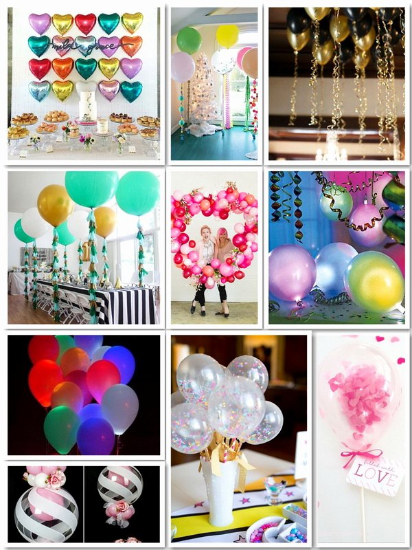 Easy Birthday Decoration Ideas at Home Awesome 50 Pretty Balloon Decoration Ideas for Creative Juice