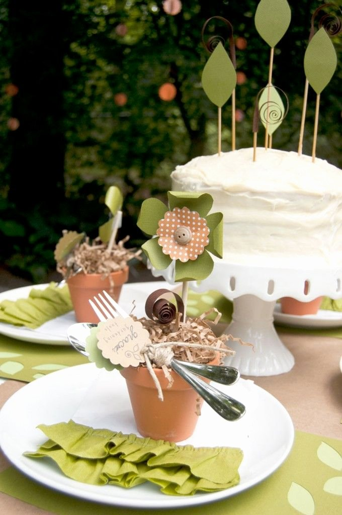 "Eco Friendly Birthday Decoration Ideas Awesome Plant A Seed"" Eco Friendly Birthday Party Frog Prince"
