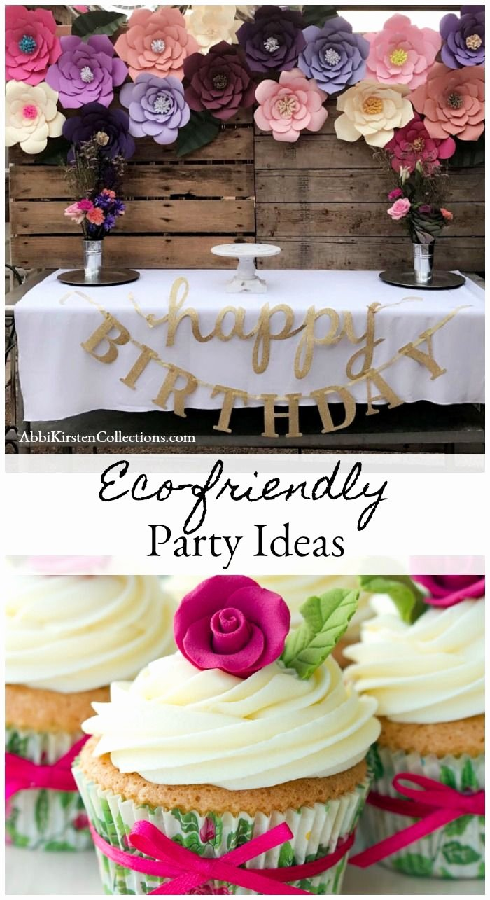 Eco Friendly Birthday Decoration Ideas Elegant Eco Friendly Party Ideas