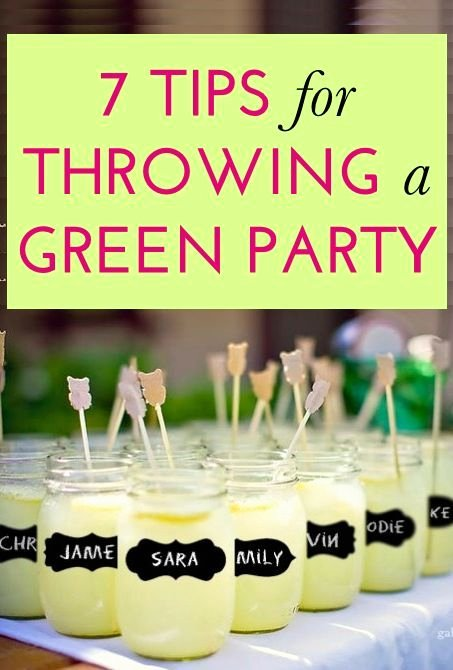 Eco Friendly Birthday Decoration Ideas Lovely 7 Steps to Throwing An Earth Friendly Party because Our