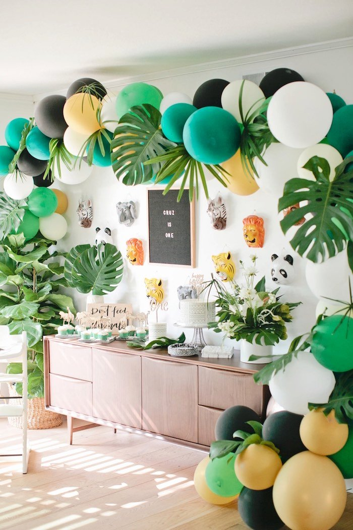 Eco Friendly Birthday Decoration Ideas Unique 9 Easy Diy Jungle Safari Party Ideas Print & Party