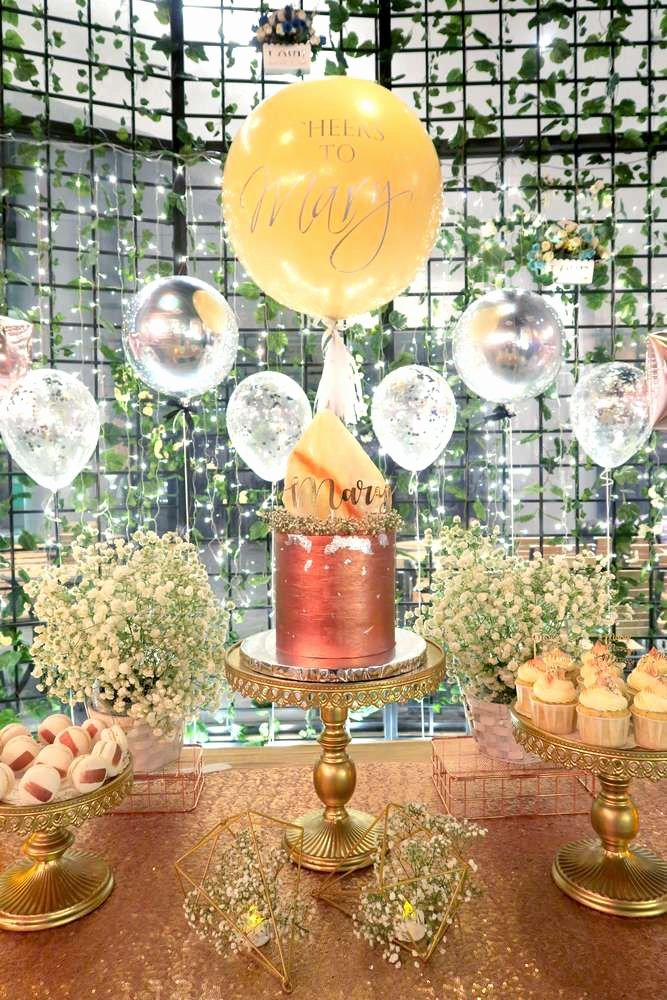 Elegant Birthday Decoration Ideas Elegant Elegant theme Birthday Party Ideas