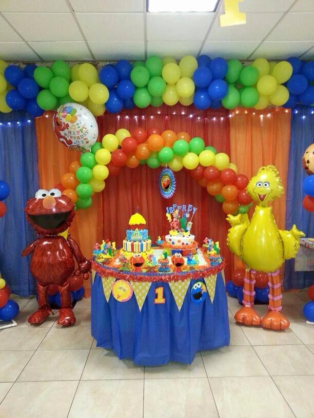 Elmo First Birthday Decoration Ideas Lovely Gorgeous Elmo Decoration