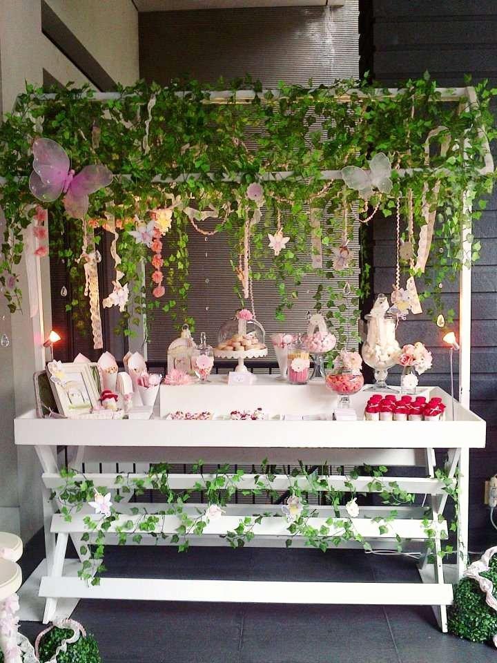 Fairy Birthday Decoration Ideas Elegant Enchanted Garden Fairy Party Birthday Party Ideas