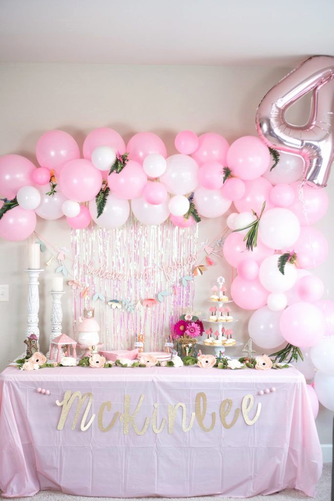 Fairy Birthday Decoration Ideas Inspirational Mckinlee S Fairy themed Birthday Party