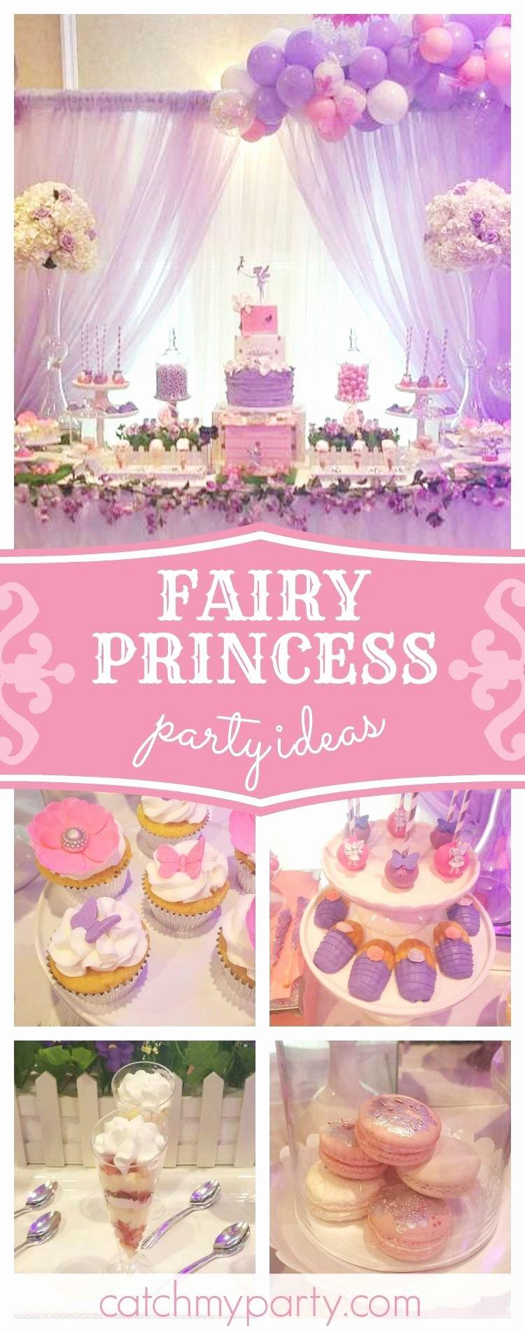 """Fairy Birthday Decoration Ideas Luxury Fairy Princess Birthday """"fairy 1st Birthday Party"""""""
