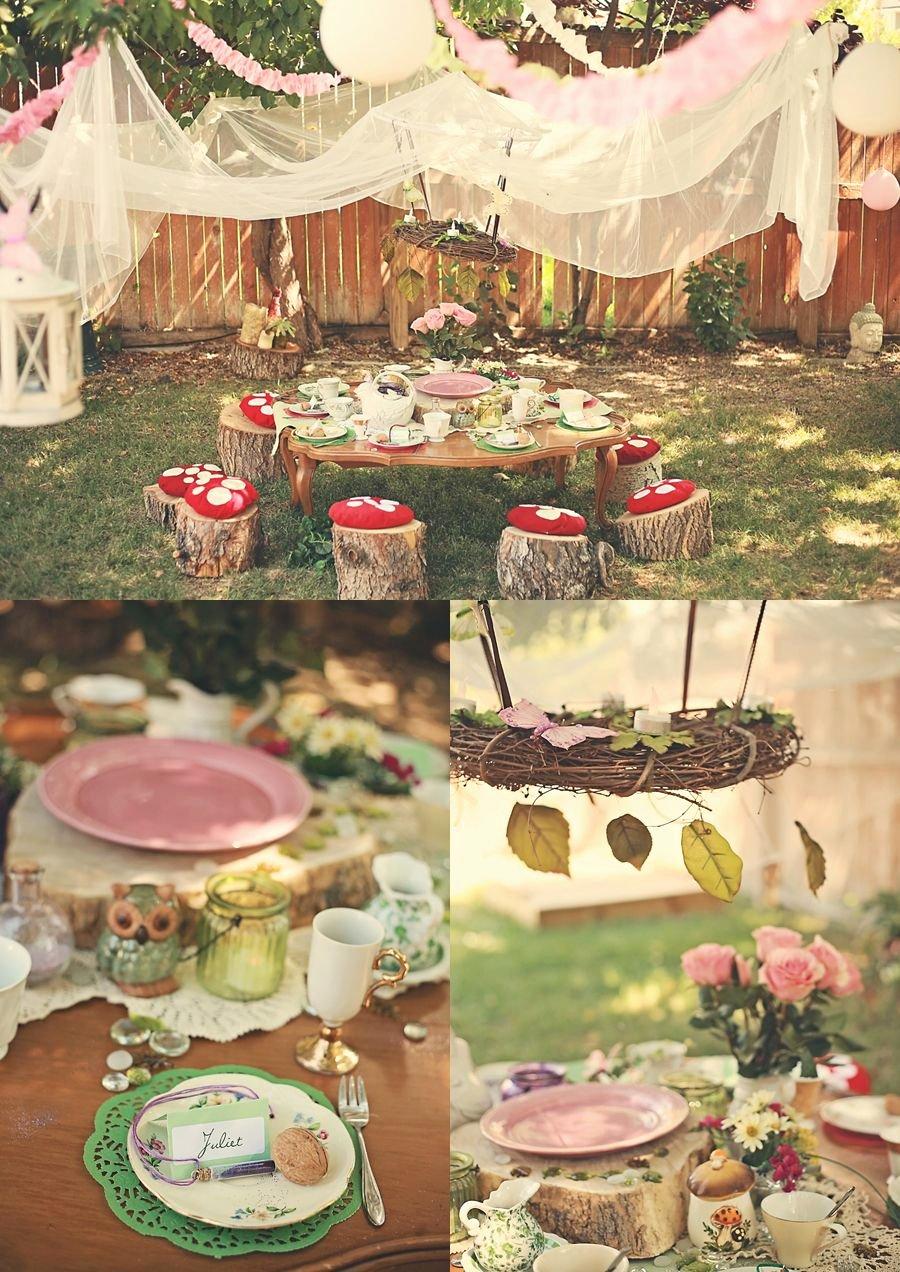 Fairy Birthday Decoration Ideas Unique A Fairy Teaparty