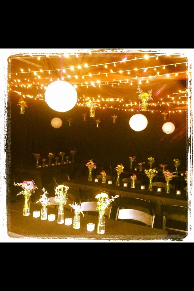 Fairy Lights Birthday Decoration Ideas Best Of A Carport Transformed Into An Intimate 18th Birthday Party