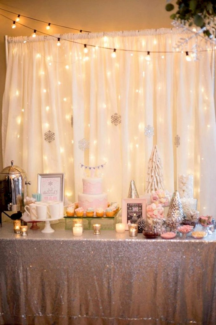 Fairy Lights Birthday Decoration Ideas Inspirational ▷ 1001 18th Birthday Ideas to Celebrate the Transition