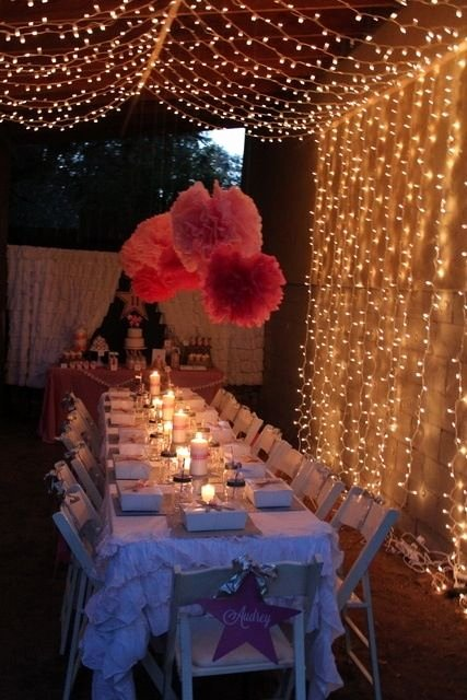 Fairy Lights Birthday Decoration Ideas Inspirational Pin On Pretty & Beautiful Things or Places