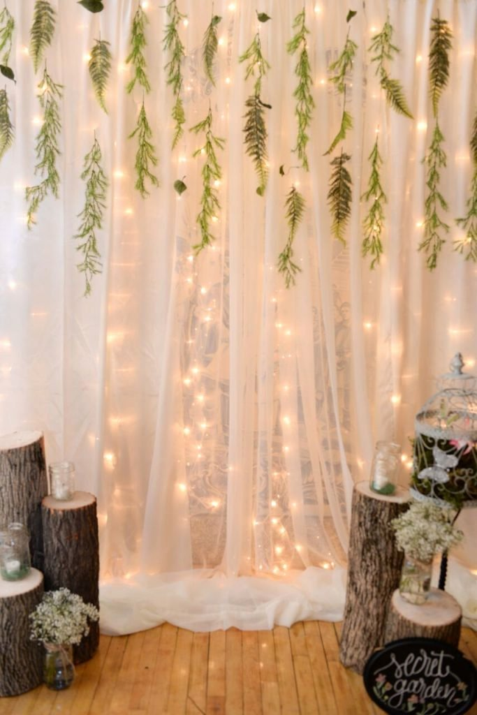 Fairy Lights Birthday Decoration Ideas Lovely 40 Enchanted forest Party theme Ideas for Kids Birthday