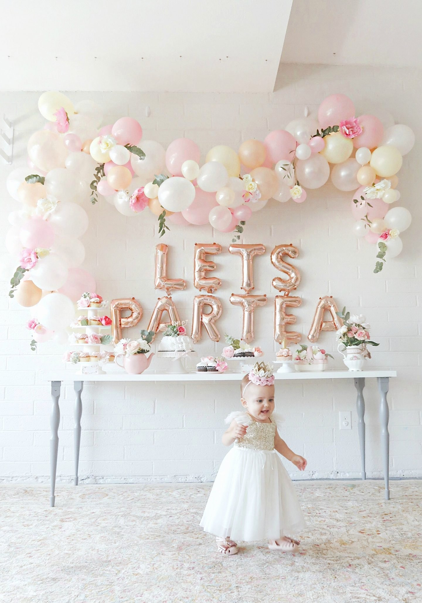 First Birthday Decoration Ideas for Baby Girl Beautiful First Birthday Tea Party for Our Baby Girl Scottie Rose