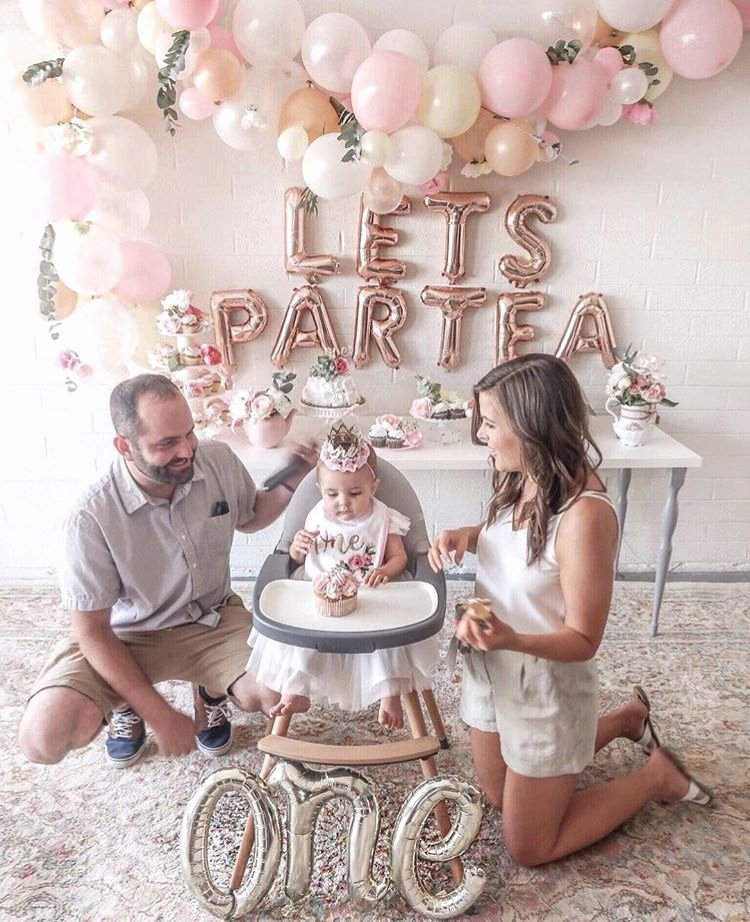 First Birthday Decoration Ideas for Baby Girl Inspirational Partea