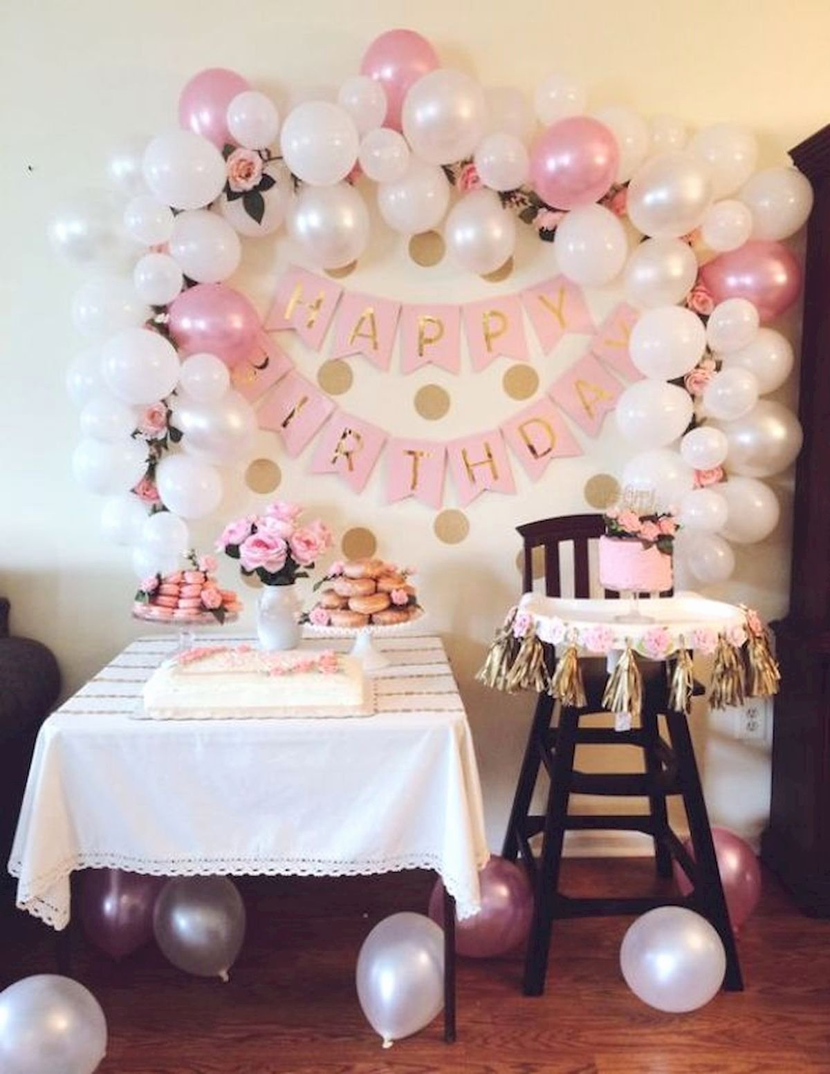 First Birthday Decoration Ideas Girl Beautiful Birthday Party Decoration Ideas 63 Jihanshanum