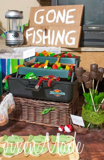 Fishing Birthday Decoration Ideas Lovely Fishing Birthday Party Ideas