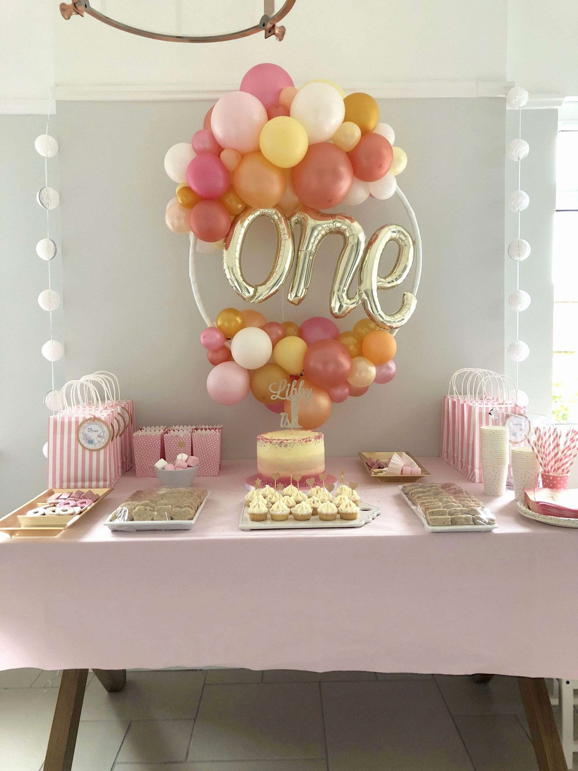 Girl 1st Birthday Decoration Ideas Fresh Image Result for 1st Birthday Girl Table