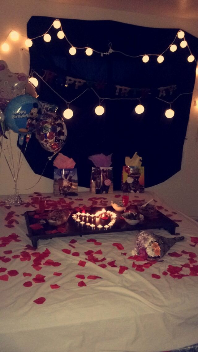 Girlfriend Birthday Decoration Ideas Awesome A Bud Surprise for Girlfriend or Boyfriend