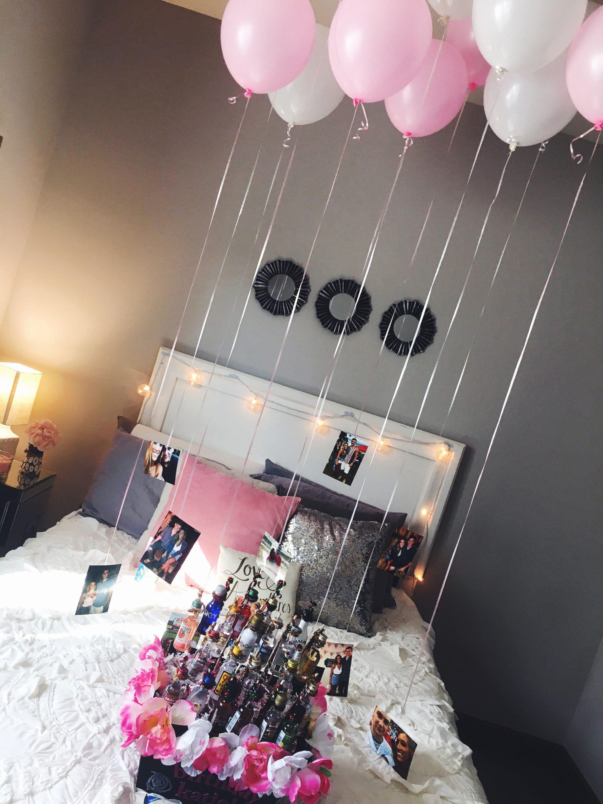 Girlfriend Birthday Decoration Ideas Fresh Easy and Cute Decorations for A Friend or Girlfriends 21st