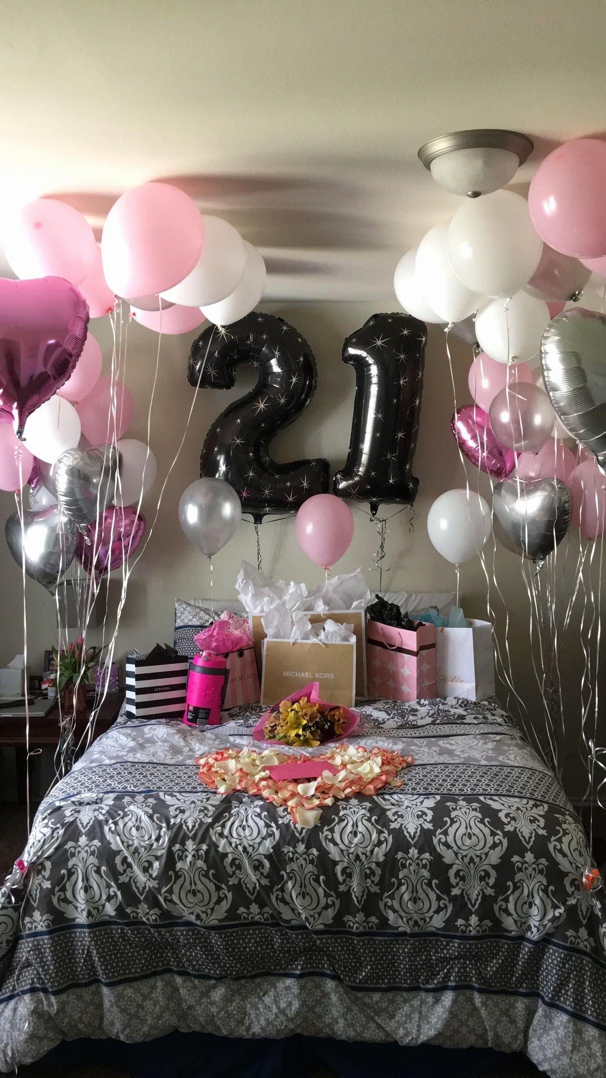 Girlfriend Birthday Decoration Ideas Unique 21st Birthday Surprise