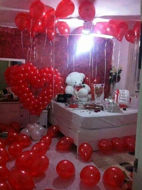 Girlfriend Birthday Decoration Ideas Unique Birthday Surprise Boyfriend Ideas Romantic Girlfriends 24