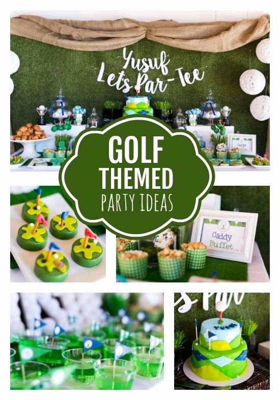 Golf Birthday Decoration Ideas Awesome Golf themed 3rd Birthday Party Pretty My Party