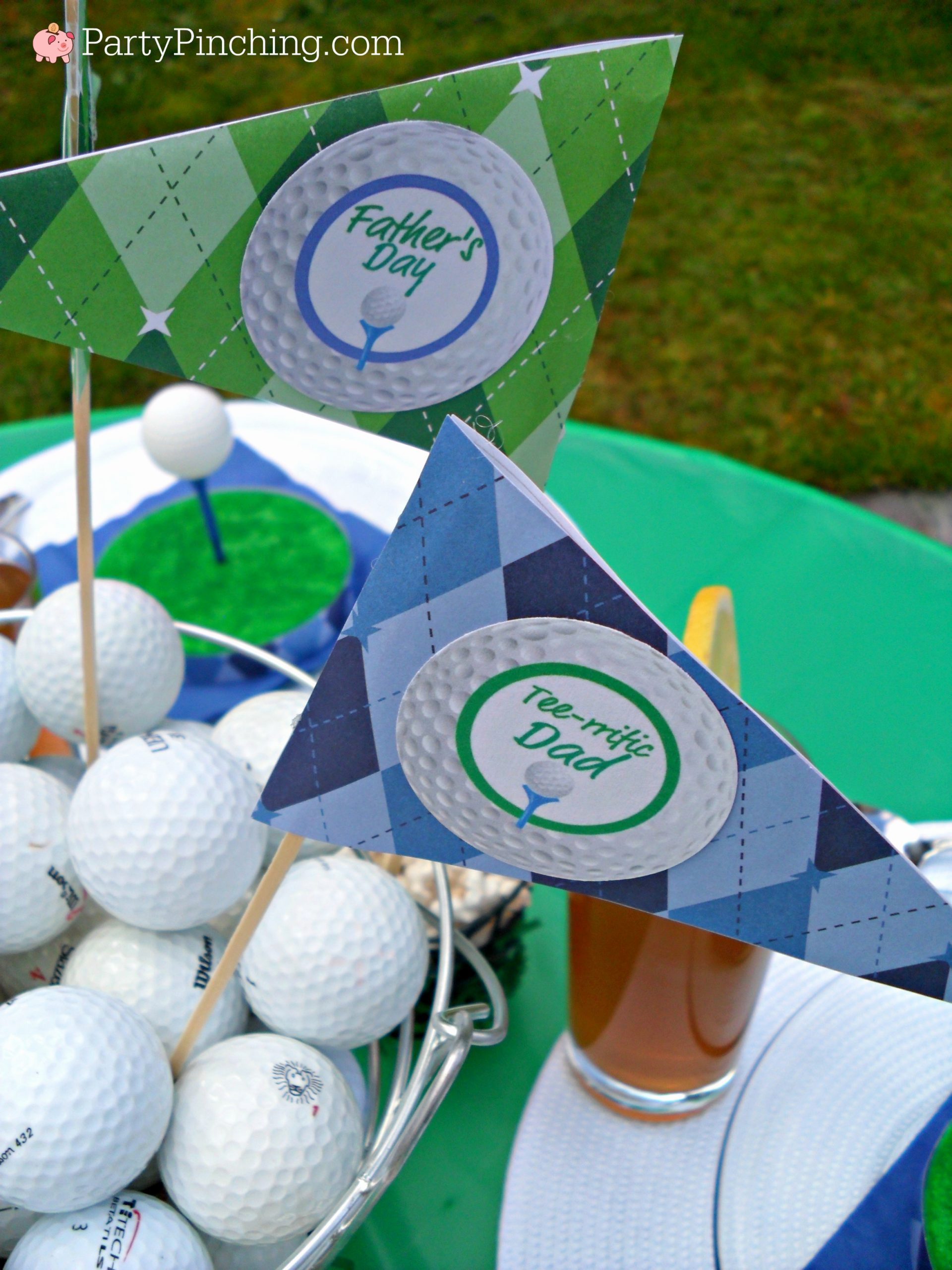Golf Birthday Decoration Ideas Luxury Golf Party Ideas for A theme Birthday or Father S Day