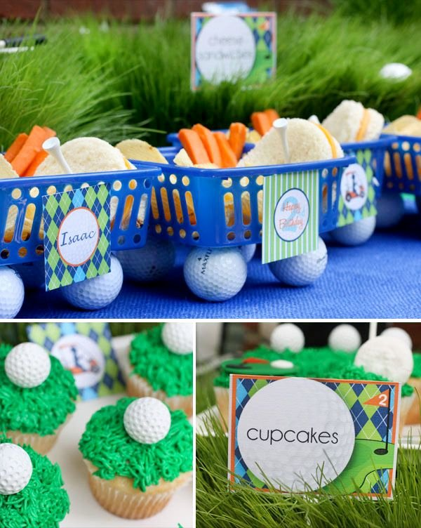 Golf Birthday Decoration Ideas Unique Super Cute & Creative Golf themed Birthday