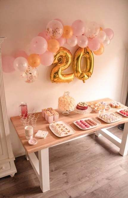 Good Birthday Decoration Ideas Best Of Best Birthday Ideas 17th Decoration 26 Ideas