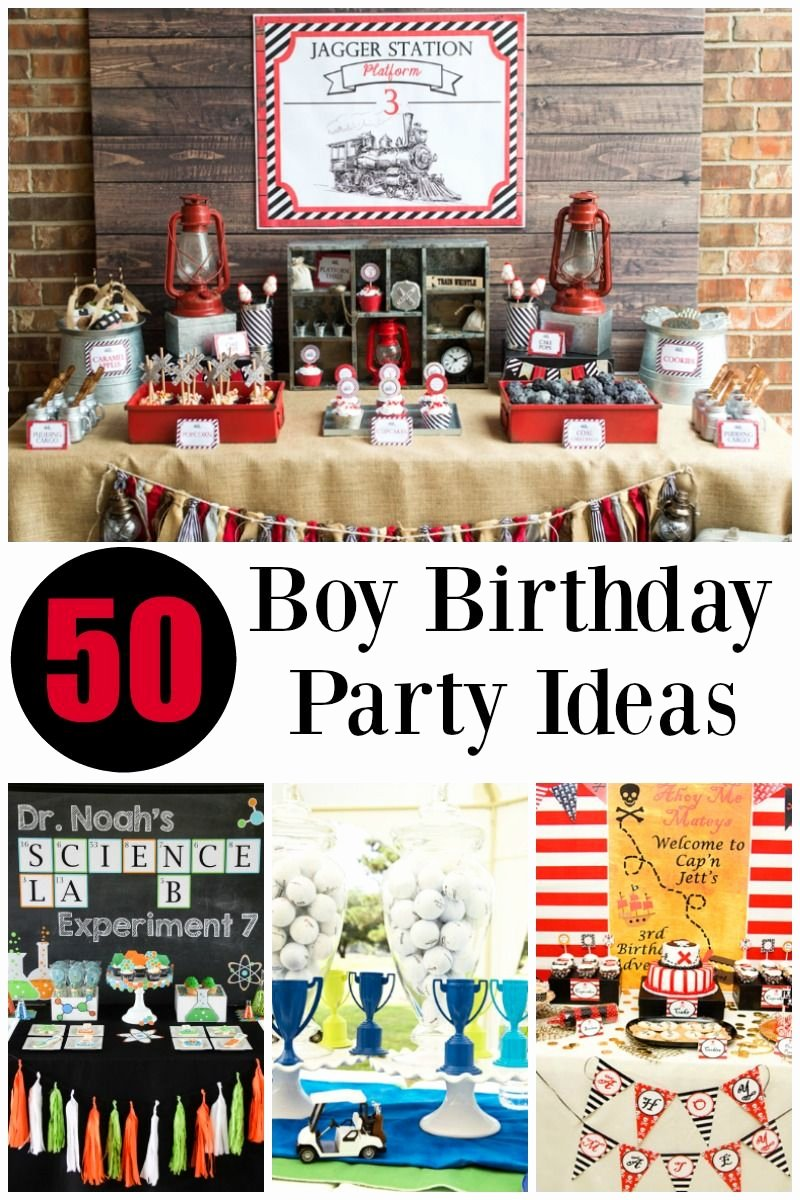 Guy Birthday Decoration Ideas Luxury Boy Birthday Party Ideas Clean Living Clean Eating