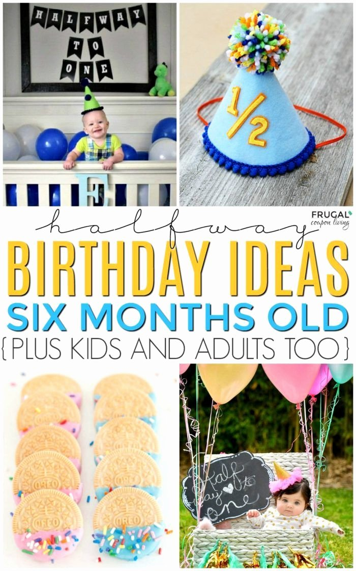 Half Birthday Decoration Ideas Fresh Half Birthday Party Ideas Mit Bildern