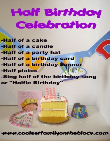 Half Year Birthday Decoration Ideas Best Of Half Birthday Celebrations