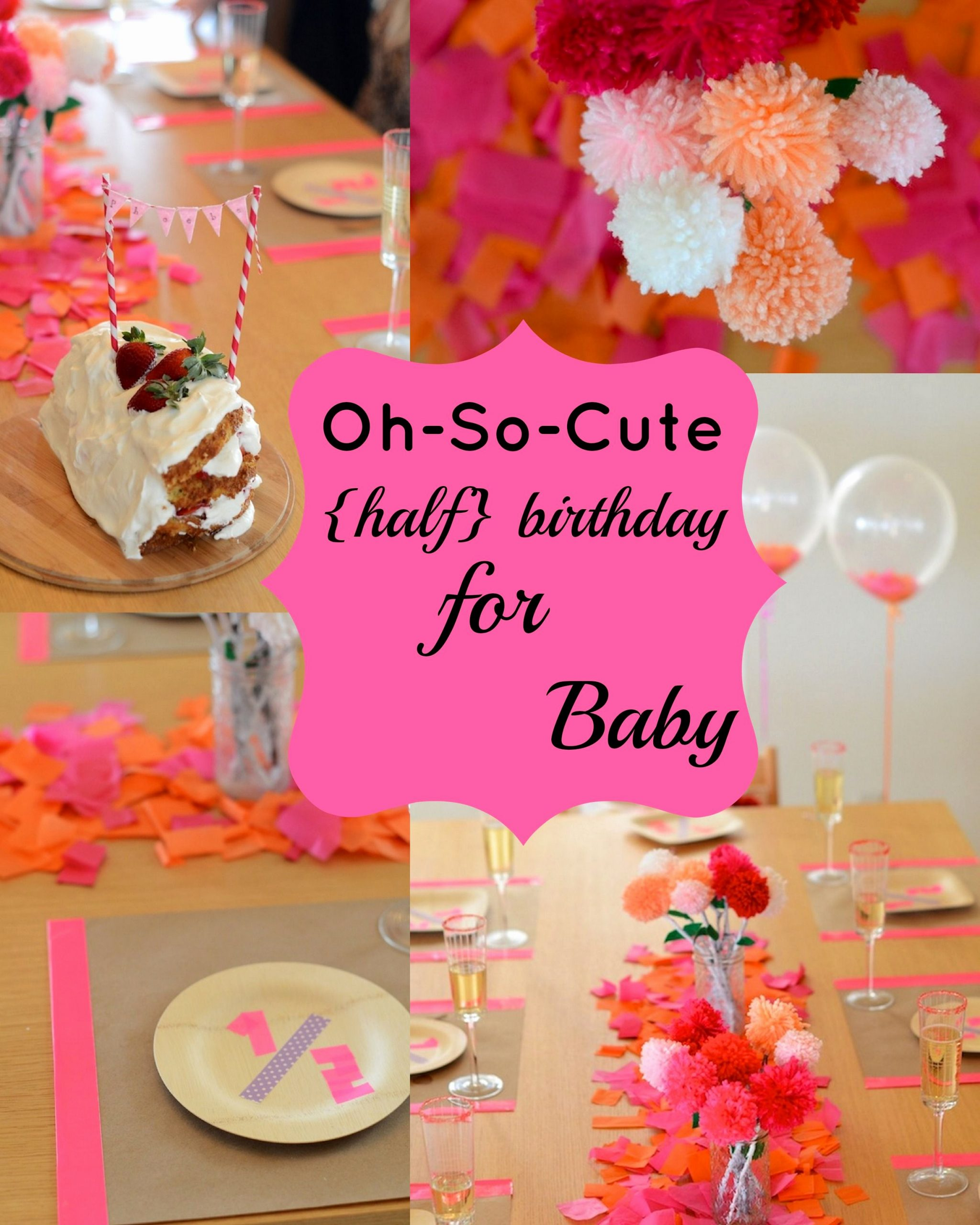 Half Year Birthday Decoration Ideas Inspirational Disney Family Recipes Crafts and Activities