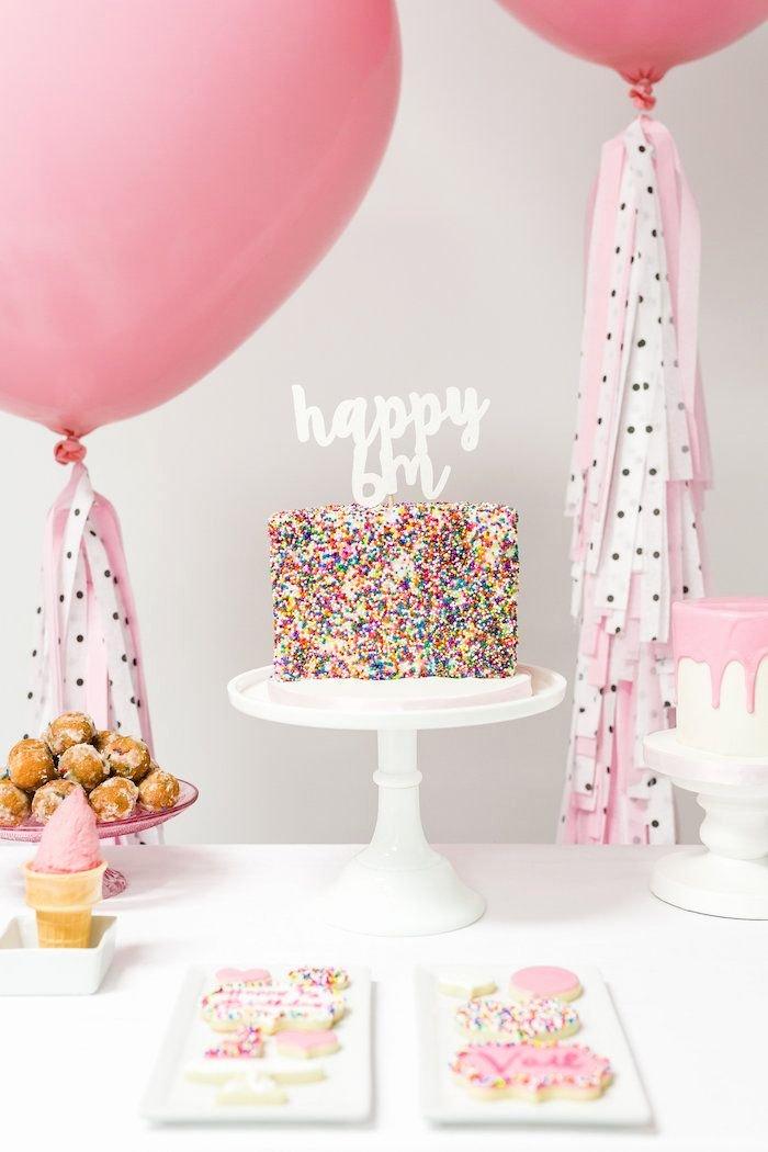 Half Year Birthday Decoration Ideas Luxury Little Sprinkles Half Birthday Party