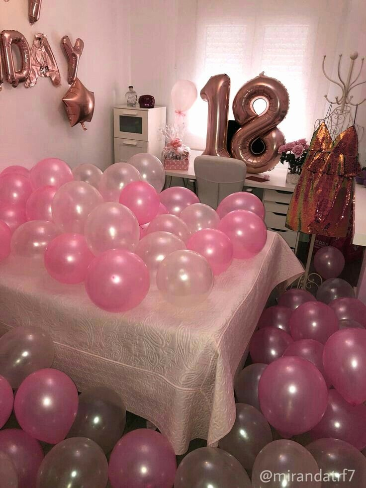 Happy 18th Birthday Decoration Ideas Awesome Pin by Maryam On Woww❤❤