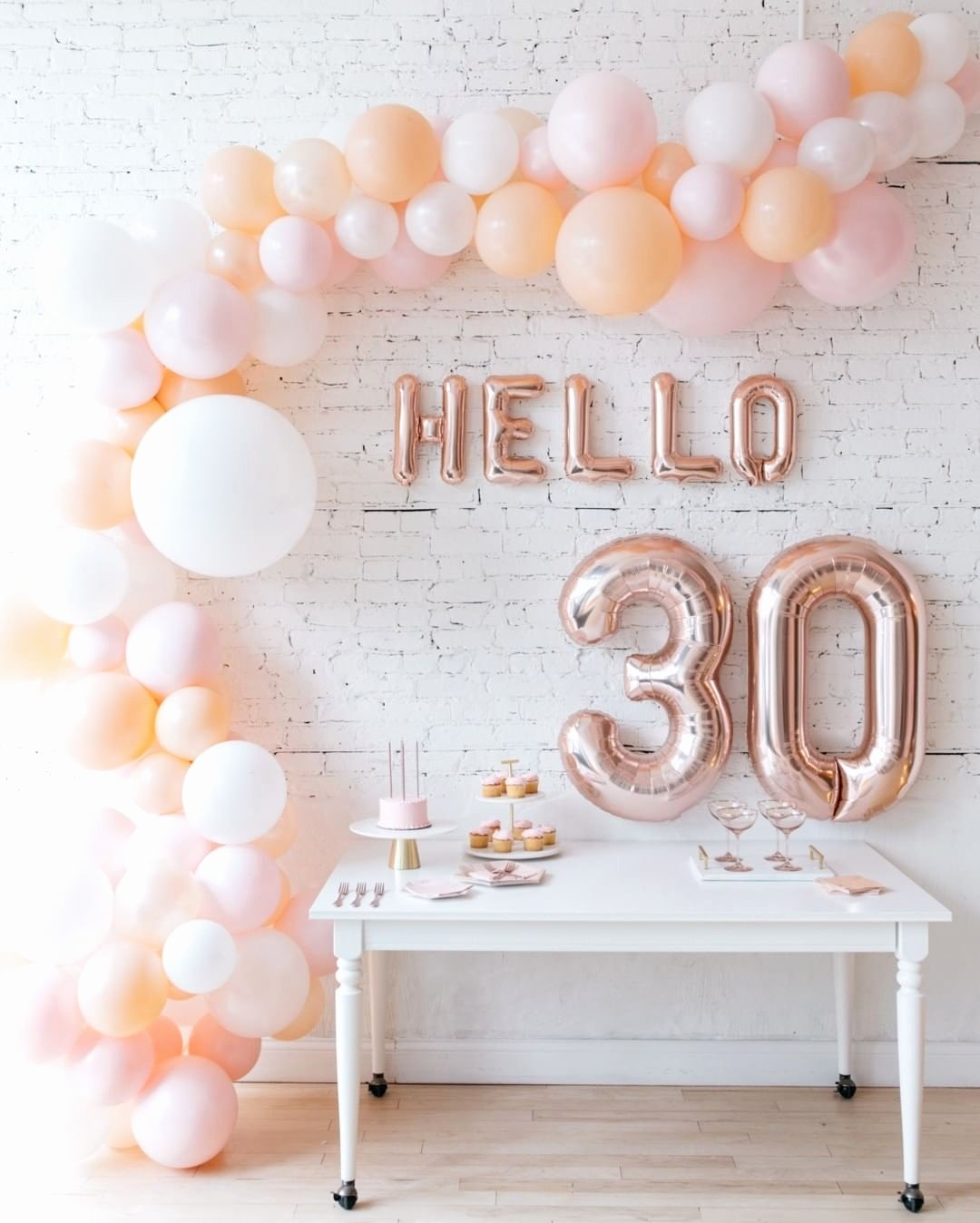 Happy 30th Birthday Decoration Ideas New Ringing In Your Birthday Calls for A Unique and Beautiful